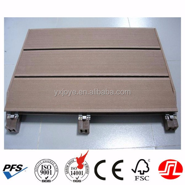 water resistant wooden plastic composite flooring with good prices