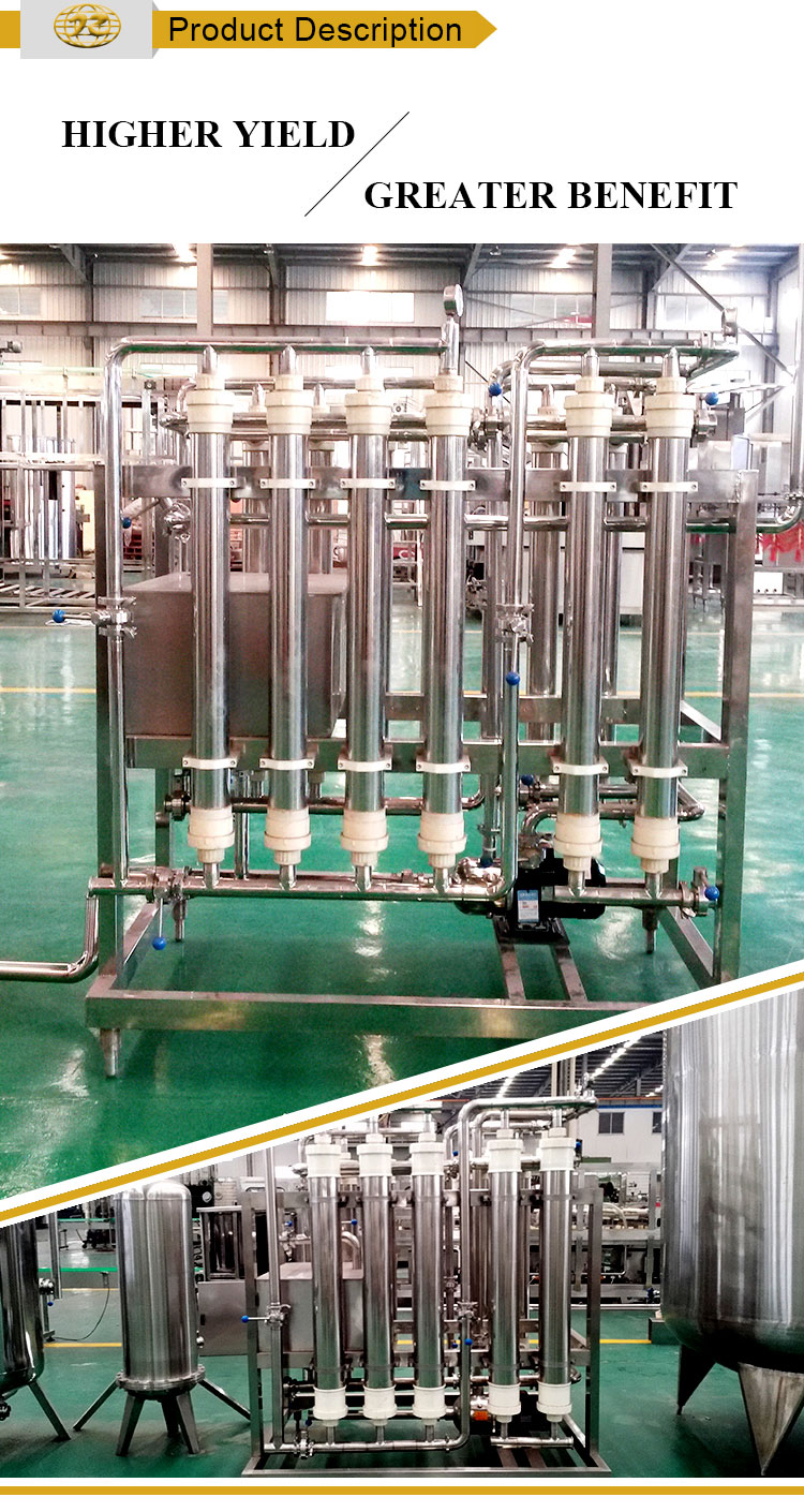 Hollow fiber water membrane filter Treatment Plants vacuum stainless steel machine price
