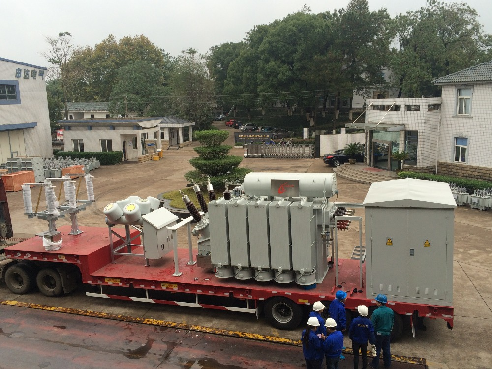 66kv 31.5mva Mobile Substation Power Transformer with Price