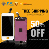 Factory supplier mobile phone for iphone 5s lcd touch screen with big Discount