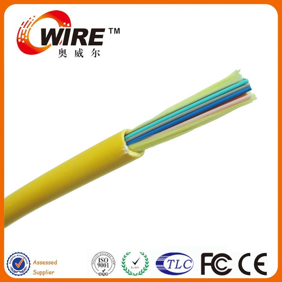 G652d Multi Stranded Adss Ftth 12core Drop Fiber Optical Cable