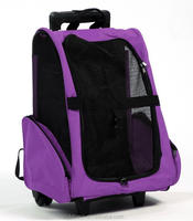 Convenient Carry Travel Pet Trolley Bag With Wheels