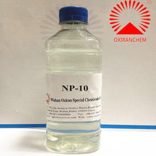 China manufacturer of ethoxylated nonyl phenol mole 10 CAS 9016-45-9 NP-10
