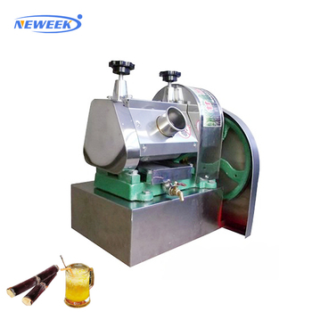 NEWEEK electric roller ginger coconut sugar cane juicing machine