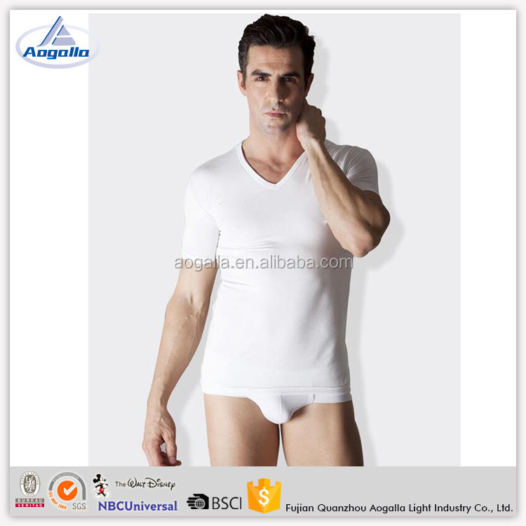 China Factory Compression Workout T Shirt Men Active Sportswear