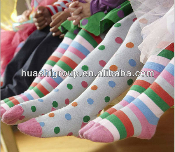 custom kids pantyhose with striped
