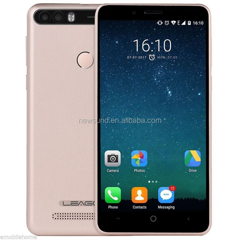 Leagoo Kiicaa Power 5.0 inch 720P MTK 6580A Quad Core 2GB+16G Android GSM 3G WCDMA Cheap Mobile <strong>Phone</strong>