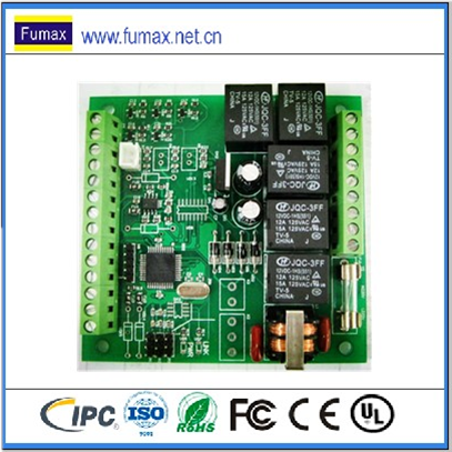TCP/IP wiegand access control board for one-four doors access control system