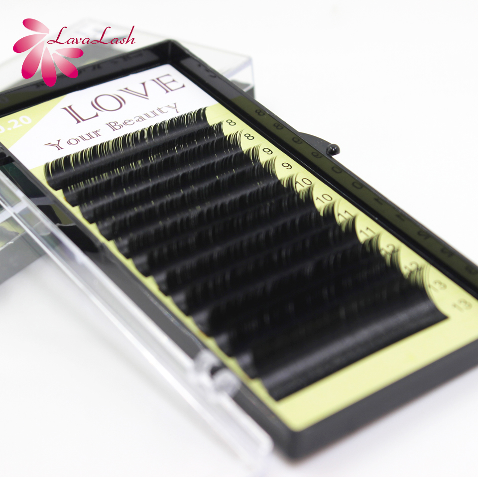 0.20 mm 3d ellipse fla eyelash extensions