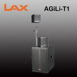 Sub-Compact Powered Loudspeaker System/10 inch subwoofer and two 4.5 inch full-range satellite speaker
