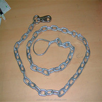 strong stainless steel dog chain