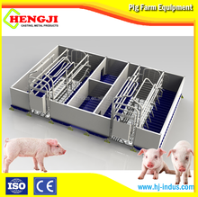 pvc panel galvanized pipe farrowing cage for pig