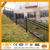 Classical 1.8m high 3 rails garden wrought iron fence