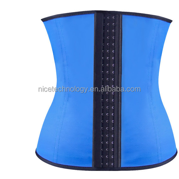 Hot sale sex women latex waist trainer corsets girdles