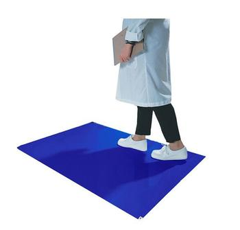 Peel off Sticky Decontaminating Mat For Electric Factory