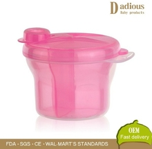 Hot selling Baby Milk Powder Container Storage Feeding Box Travel Portable