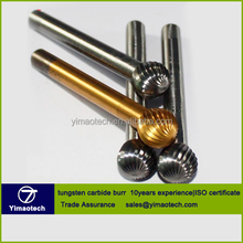 SGS carbide rotary burrs manufacturers, best tungsten carbide burr 1/4 shank
