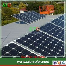Flat Roof Adjustable Solar Panel Mounting Bracket System