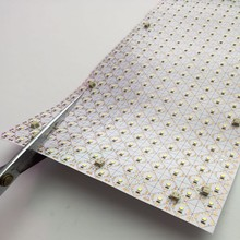 Able to be cut into ANY shape flex light sheet leds for backlit light box