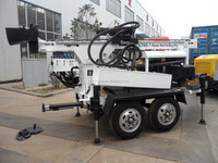 cheapest trailer bore hole Water Well Drilling equipment SLY400-T for sale