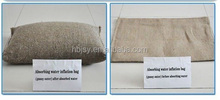 Water absorbing sandbag instant sandbag flood control sandbags wholesale