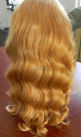 alibaba express blonde human hair kosher tangle free European hair wig Jewish wigs