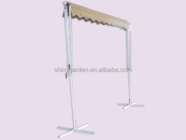 stand awning, double side awning, two-side awning