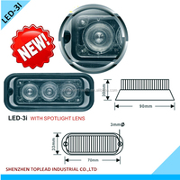 LED Emergency Strobe Light Single or Dual Configurations Mount Version LED Surface Mount Beacon