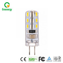 2016 Promotional LED 12V 100lm 1.5W Silicone Material COB G4 LED Bulb Light