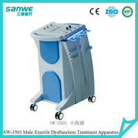 emission/Erectile dysfunction/impotence treatment machine by electric pulse