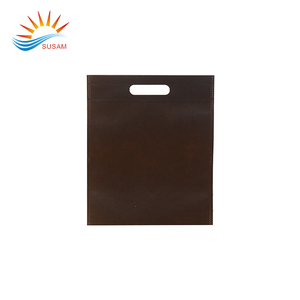 Promotional Custom High quality non woven reusable flat shopping bag
