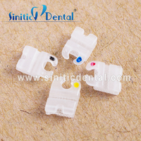 Sinitic Dental ceramic bracket orthodontic roth clear braces from china supplier