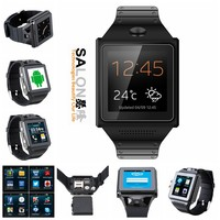 Stablest 8 Layers PCBA 5MP Camera MTK6577 A9 Dual Core GPS Bluetooth 4.0 WiFi Android Smart Watch Phone