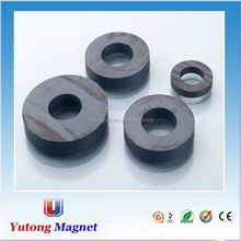 isotropic/anisotropic Y30 D60x20mm barium ferrite strong ring magnet