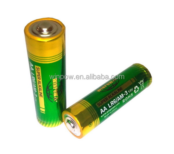 TV remote control 1.5v AA/ LR6 am3 alkaline battery