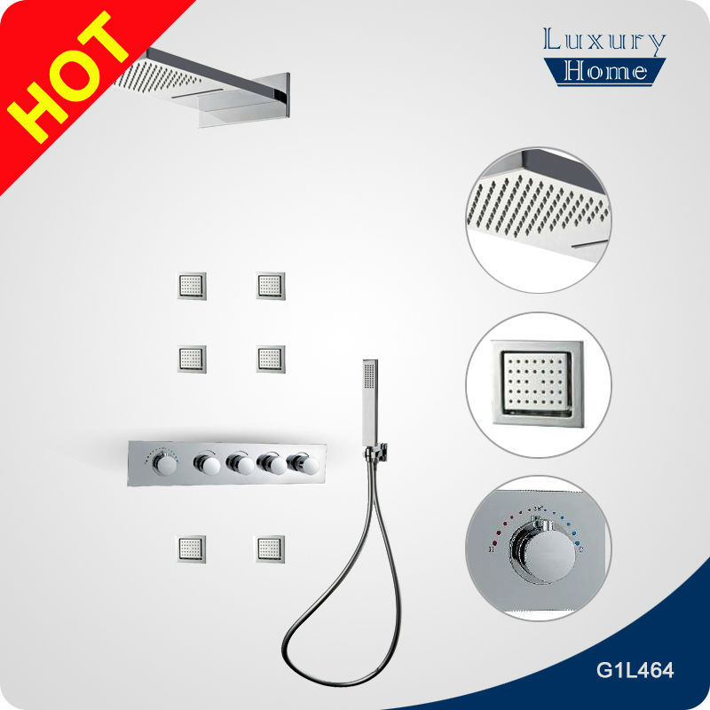 stainless steel shower panel faucet parts