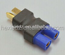 Hot sale RC adapter EC5 female to T male plug wireless adapter