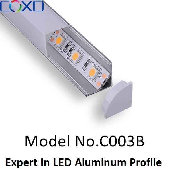 Custom length hot sale aluminium extrusions recessed led profile light