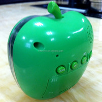 Promotional Apple shaped desktop digital clock
