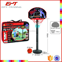 Plastic basketball rack kids mini plastic basketball hoop in good quality