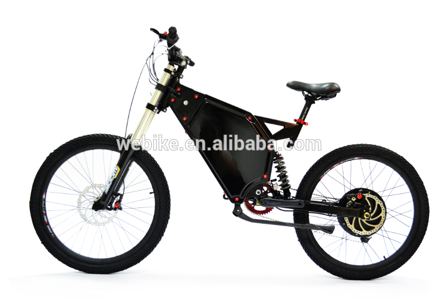 Hot sale adult 26 inch 72v 3000w off road mountain electic bicycle ebike with EN15194