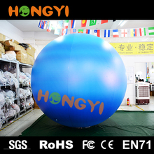 Large inflatable LED lighting planet balloon outdoor inflatable decorative planet