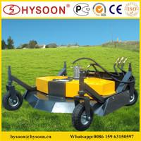 mini skid steer loader lawn mower