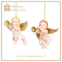 Christmas Gifts Handmade Trumpeting Angels