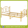 Gloden Painting Palace Royal Iron Bed Furniture Pakistan