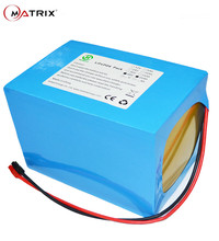 48V 20AH Lithium Battery Pack 30A BMS For 48Volt 1000W Electric Scooter 13S 18650 Li Ion