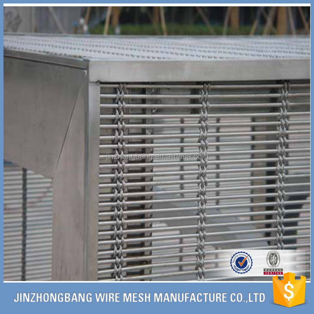 stainless steel decorative wire mesh in steel wire for curtains
