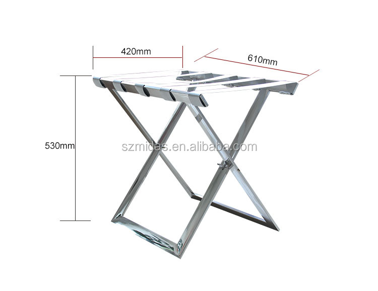 Folding Luggage Rack For Hotels Size View Luggage Rack