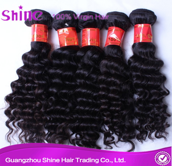 Hot selling remy overseas hair products