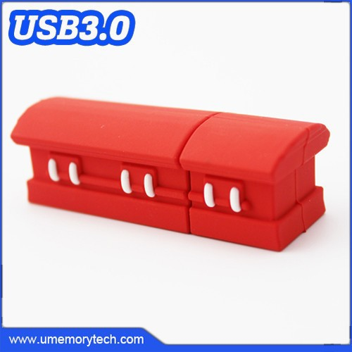 Coffin shape usb sticks 32 gb/pen drive 32 gb/usb flash drive 32 gb cool shape usb